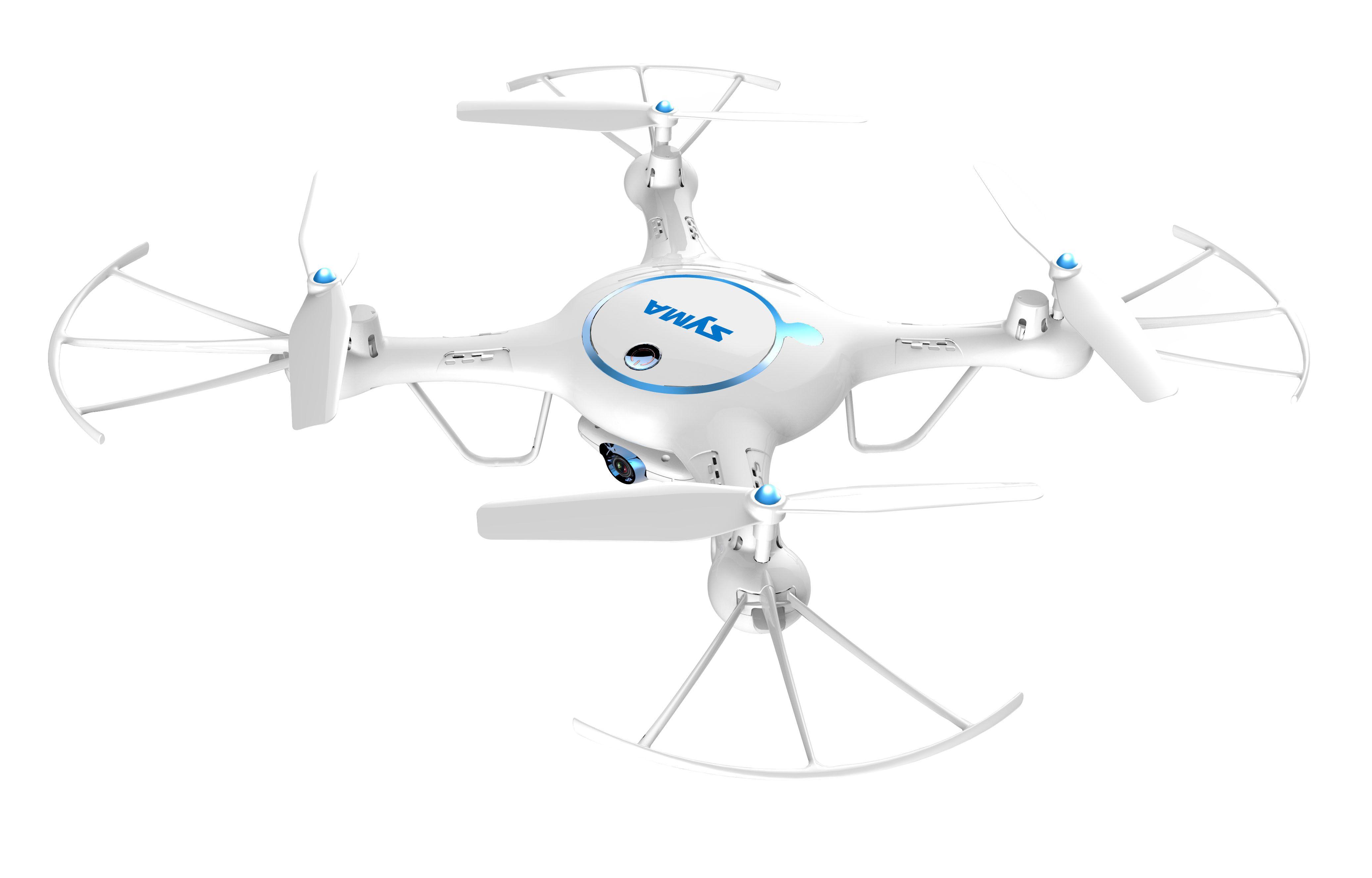 Купить Квадрокоптер SYMA X5UW 720p / FPV / Wi-Fi / Barometr