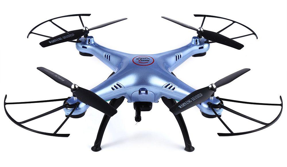 Купить Квадрокоптер SYMA X5HW 720p / FPV / Wi-Fi / Barometr (Blue)