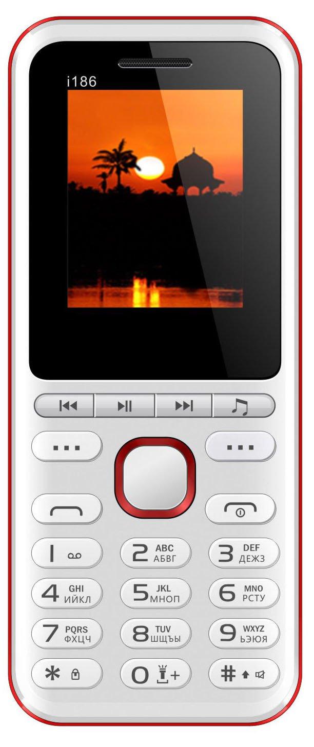 Купить Мобильный телефон Nomi i186 (White)
