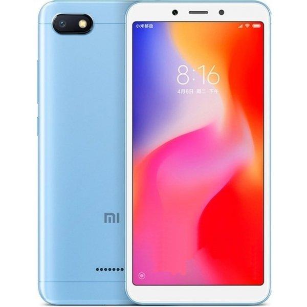 Купить Смартфон Xiaomi Redmi 6A 2/16Gb (Blue) UA-UCRF