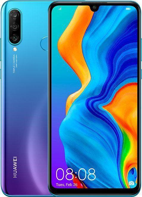 Купить Смартфоны, Смартфон Huawei P30 Lite 4/128GB Peacock Blue (51093PUU) UA-UCRF