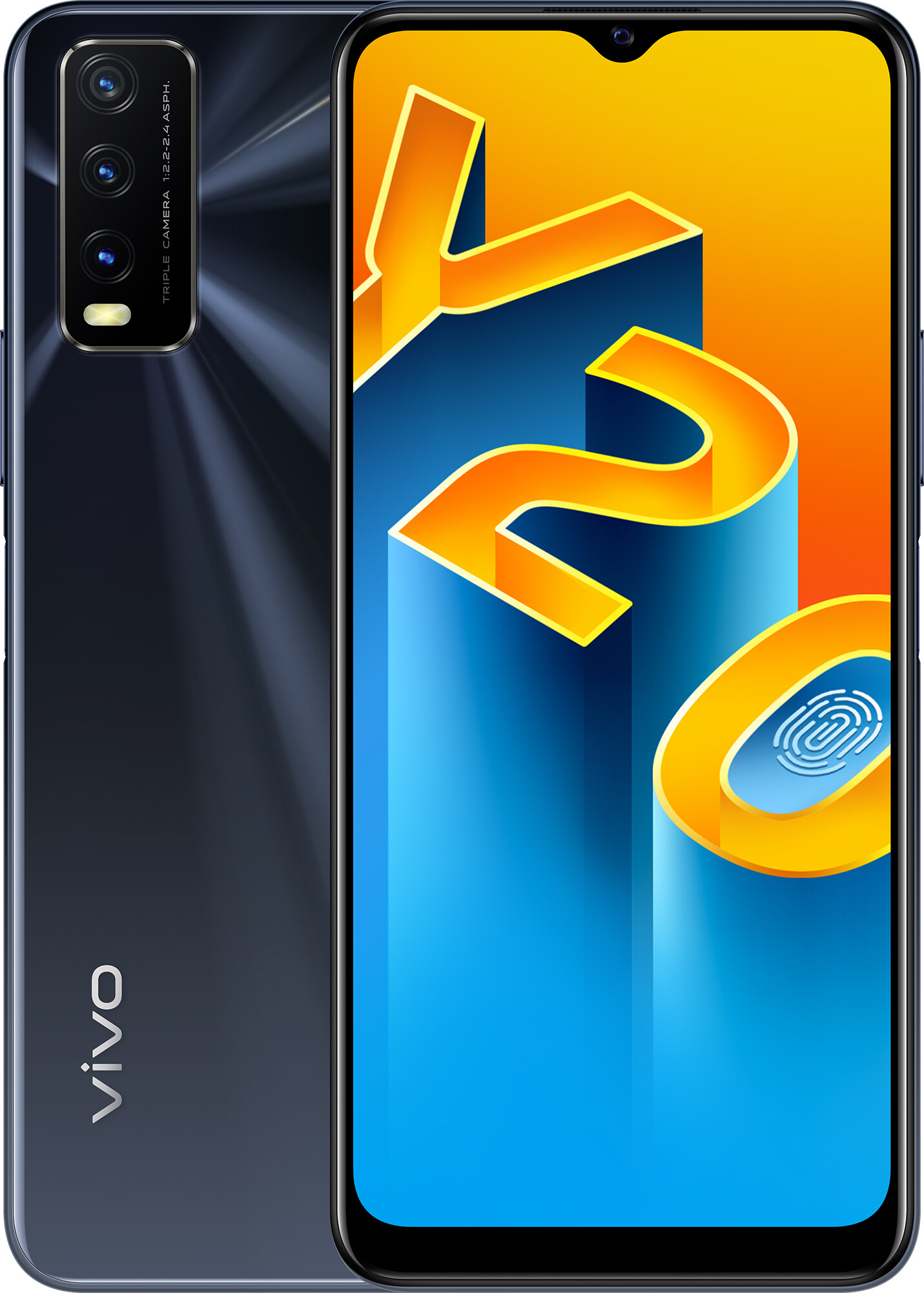 Смартфон Vivo Y20 4/64GB (Obsidian Black) UA-UCRF