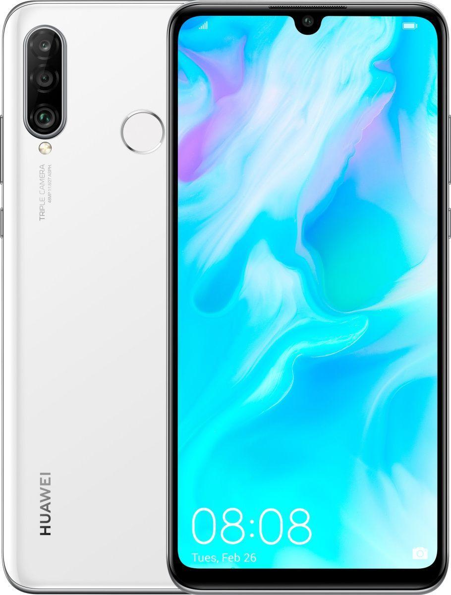 Купить Смартфоны, Смартфон Huawei P30 Lite 4/64GB Pearl White (51094VBR) UA-UCRF