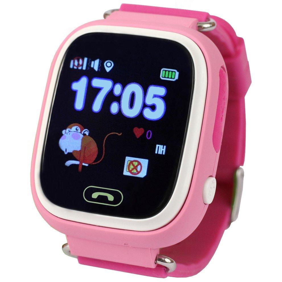 Купить Детские умные часы Smart Baby Q100 (Pink)