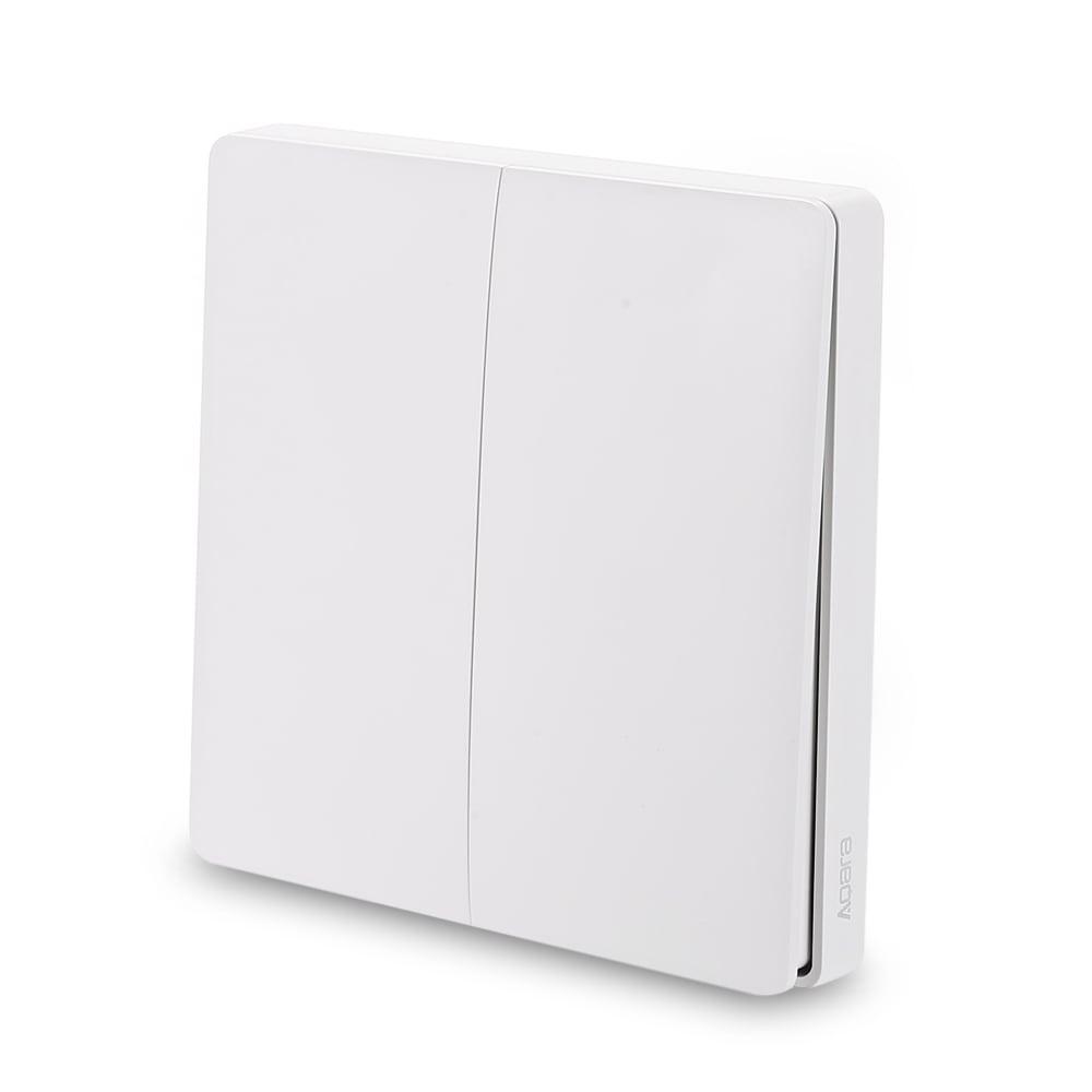 Купить Выключатель света наружный Xiaomi Aqara smart light control (WXKG02LM) 2 кнопки