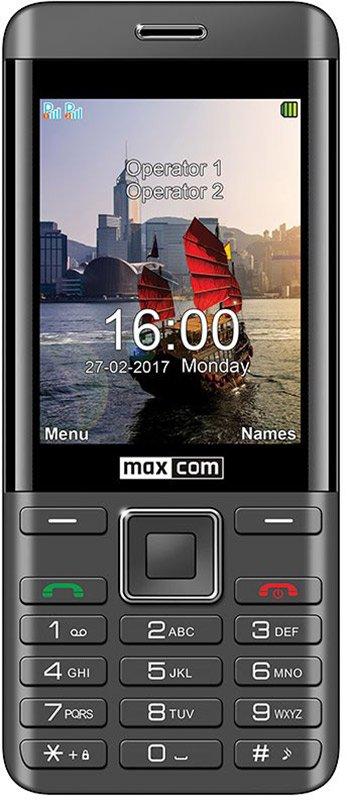 Купить Мобильный телефон Maxcom MM236 (Black-Silver) UA-UCRF