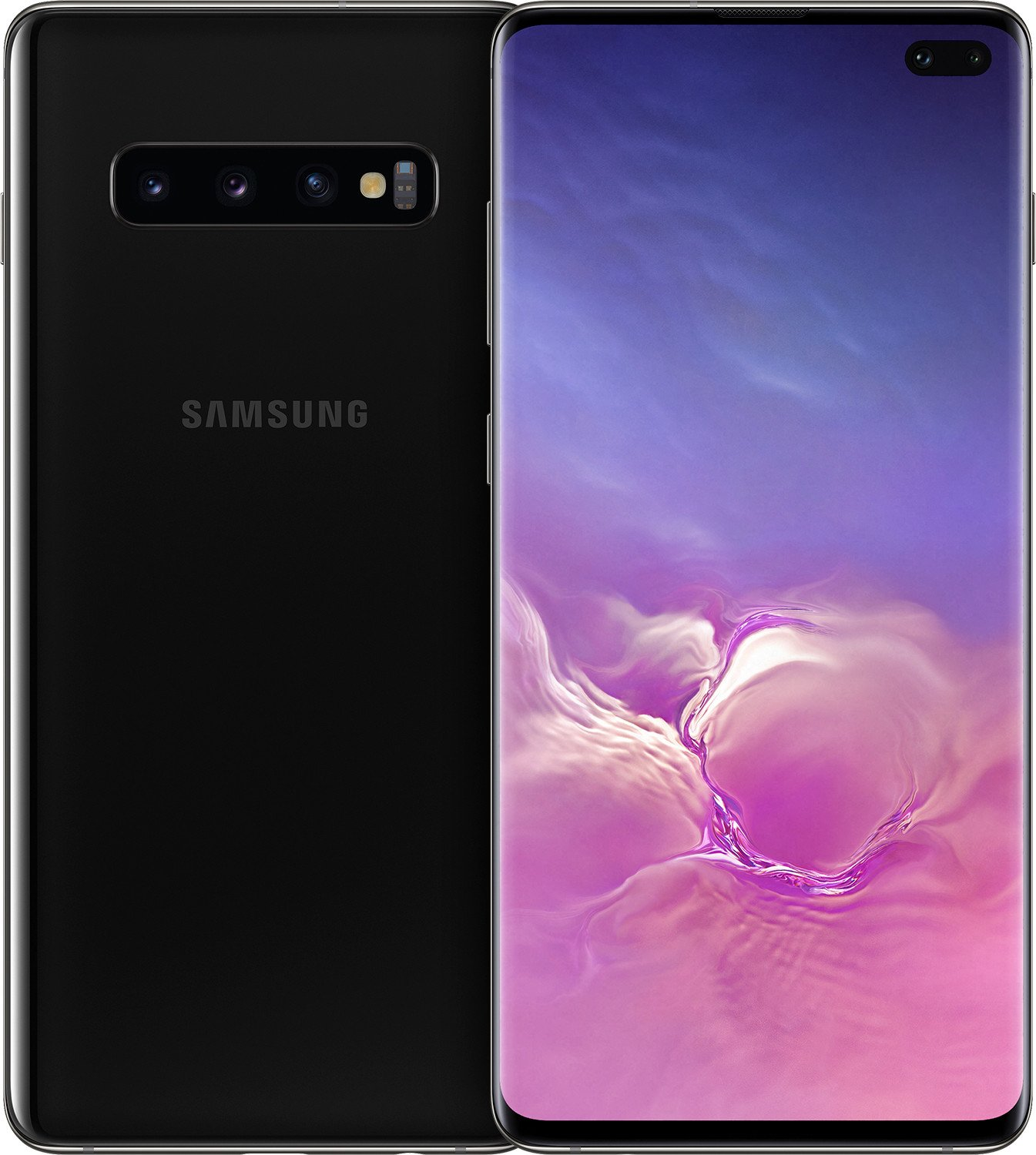 Купить Смартфон Samsung Galaxy S10 Plus SM-G975 DS 128Gb Black (SM-G975FZKD) UA-UCRF