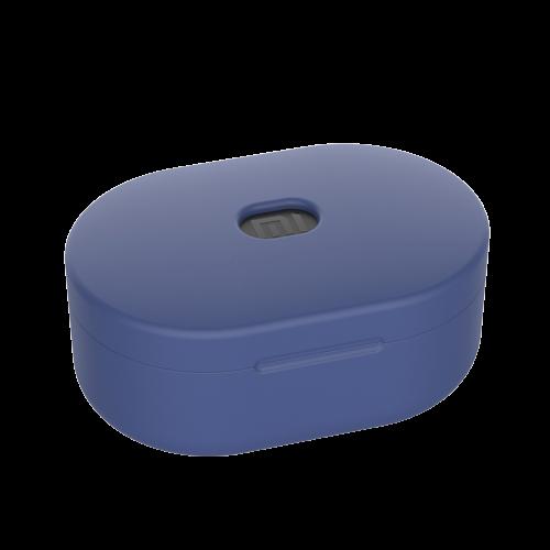 Чехол Silicone Case для Xiaomi Redmi AirDots (Dark Blue)