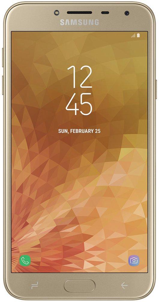 Купить Смартфон Samsung Galaxy J4 2018 Gold (SM-J400FZDDSEK) UA-UCRF