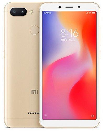 Купить Смартфон Xiaomi Redmi 6 3/64Gb (Gold) UA-UCRF