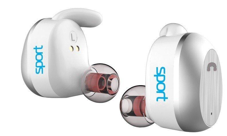 Навушники Elari NanoPods Sport White (NPS-2WHT) UA