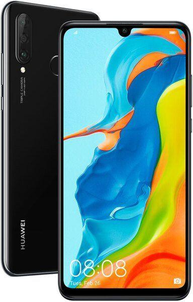 Купить Смартфоны, Смартфон Huawei P30 Lite 4/128GB Midnight Black (51093PUS) UA-UCRF