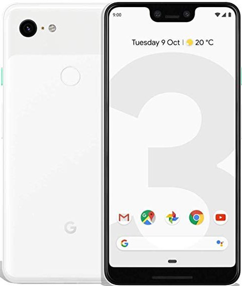 Купить Смартфон Google Pixel 3 4/128GB (Clearly White)