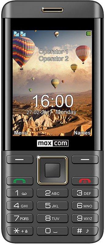 Купить Мобильный телефон Maxcom MM236 (Black-Gold) UA-UCRF