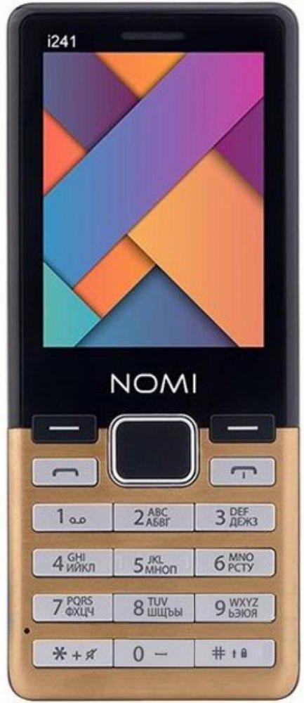 Купить Мобильный телефон Nomi i241 (Gold)