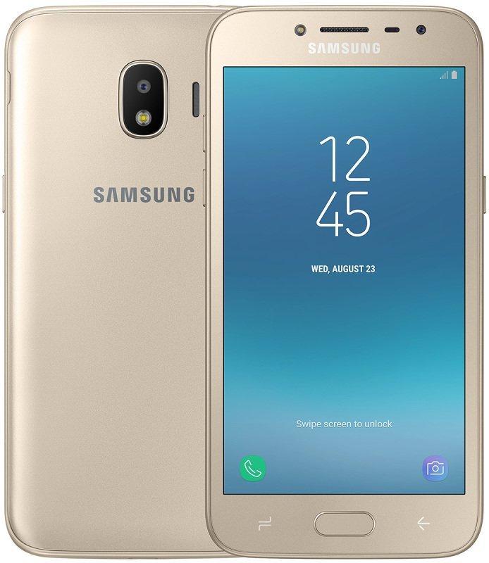 Купить Смартфон Samsung Galaxy J2 2018 LTE 16GB Gold (SM-J250FZDD) UA-UCRF