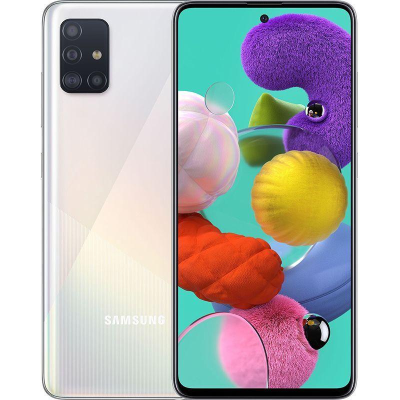 Смартфон Samsung Galaxy A51 SM-A515FN 2020 6/128GB White (SM-A515FZWW)  UA-UCRF