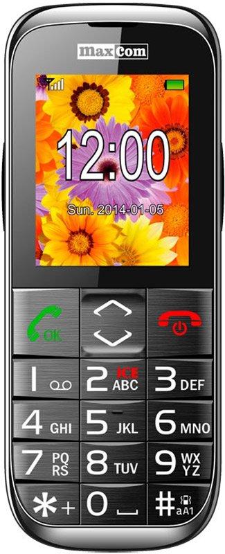 Купить Мобильный телефон Maxcom MM720 (Black) UA-UCRF