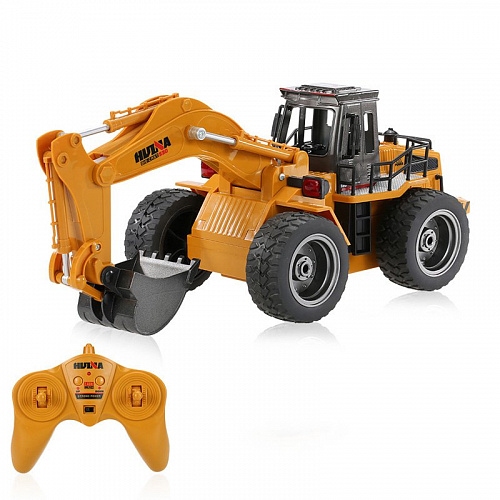 Экскаватор Huina Toys 1530 Metal Excavator (Yellow)